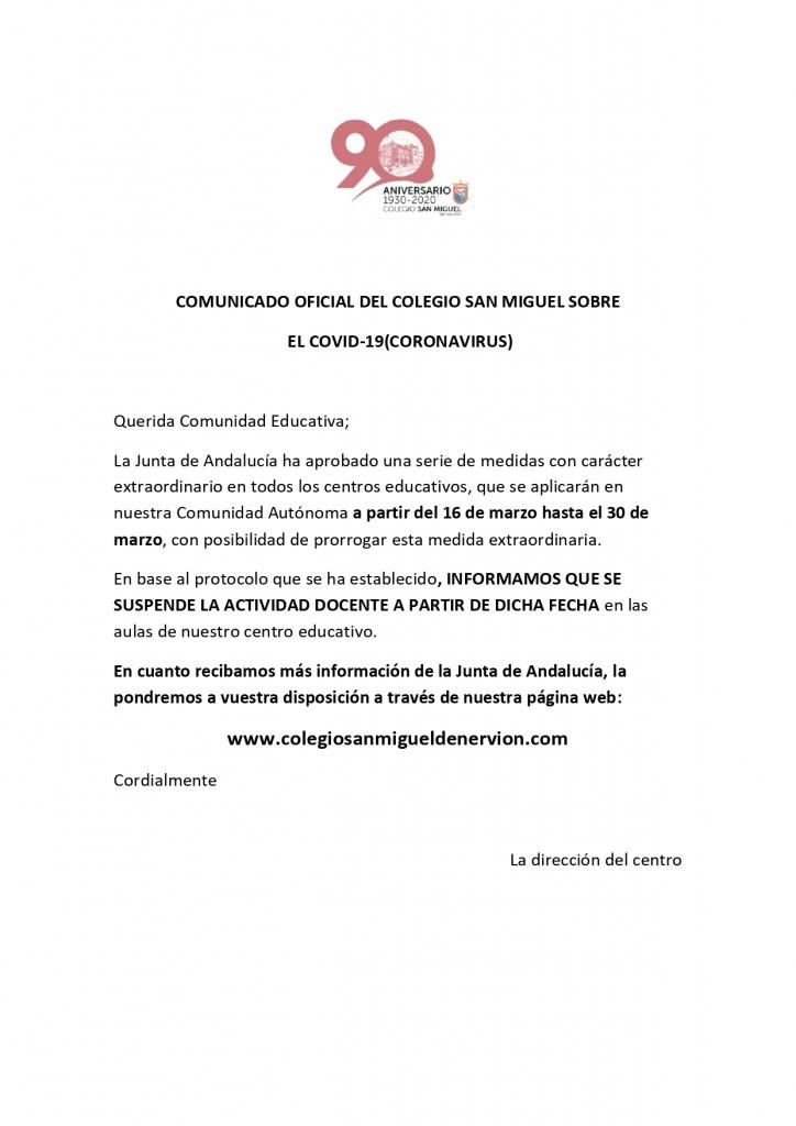 COMUNICADO OFICIAL DEL COLEGIO SAN MIGUEL SOBRE_page-0001